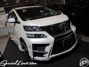 Tokyo Auto Salon 2014 in Makuhari messe vellfire 東京オートサロン 幕張メッセ