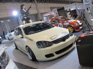 Tokyo Auto Salon 2014 in Makuhari messe golf 東京オートサロン 幕張メッセ