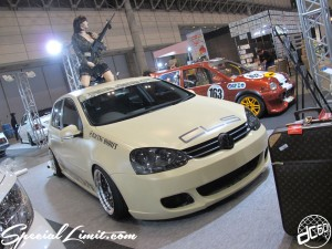 Tokyo Auto Salon 2014 in Makuhari messe 東京オートサロン 幕張メッセ golf