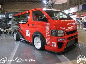 Tokyo Auto Salon 2014 in Makuhari messe 東京オートサロン 幕張メッセ crs hiace drift