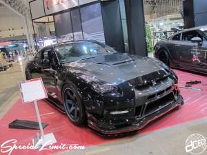 Tokyo Auto Salon 2014 in Makuhari messe GTR