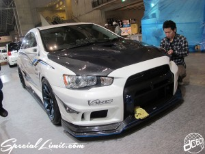 Tokyo Auto Salon 2014 in Makuhari messe 東京オートサロン 幕張メッセ evo Ⅹ