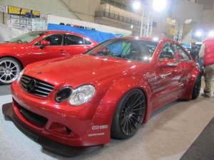 Tokyo Auto Salon 2014 in Makuhari messe wide body benz 東京オートサロン 幕張メッセ