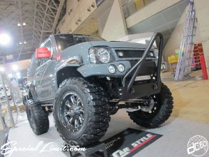 Tokyo Auto Salon 2014 in Makuhari messe 東京オートサロン 幕張メッセ jimny jb23