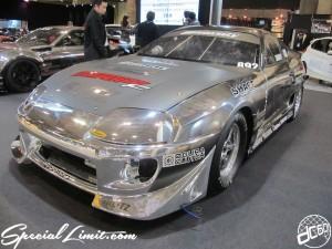 Tokyo Auto Salon 2014 in Makuhari messe 東京オートサロン 幕張メッセ chrome wrapping supra
