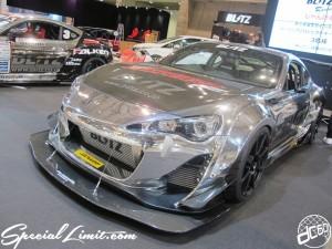 Tokyo Auto Salon 2014 in Makuhari messe 東京オートサロン 幕張メッセ chrome wrapping 86