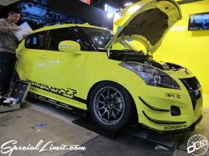 Tokyo Auto Salon 2014 in Makuhari messe 東京オートサロン 幕張メッセ swift スイフト
