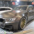 Tokyo Auto Salon 2014 in Makuhari messe bmw f30 crimson rs wire widebody