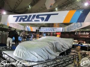 Tokyo Auto Salon 2014 in Makuhari messe 東京オートサロン 幕張メッセ trust