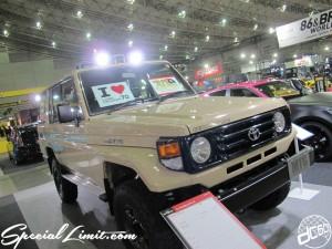Tokyo Auto Salon 2014 in Makuhari messe custom 東京オートサロン ランドクルーザー70 ランクル