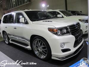 Tokyo Auto Salon 2014 in Makuhari messe custom 東京オートサロン ランドクルーザー ランクル elford エルフォード