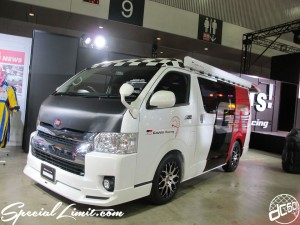 Tokyo Auto Salon 2014 in Makuhari messe custom 東京オートサロン ハイエース