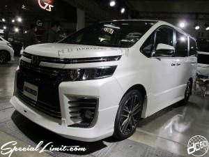 Tokyo Auto Salon 2014 in Makuhari messe 東京オートサロン 幕張メッセ New VOXY custom