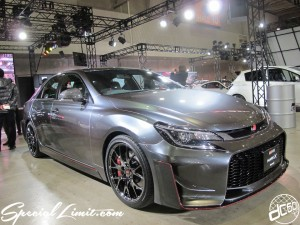 Tokyo Auto Salon 2014 in Makuhari messe custom 東京オートサロン TOYOTA Gazoo Racing トヨタ レーシング mark x
