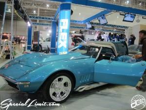 Tokyo Auto Salon 2014 in Makuhari messe custom 東京オートサロン コルベット Corvette サイドマフラー コンバーチブル
