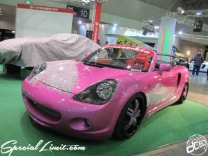 Tokyo Auto Salon 2014 in Makuhari messe custom 東京オートサロン TOYOTA MRS トヨタ ミッドシップ ランナバウト スポーツ