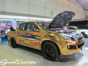 Tokyo Auto Salon 2014 in Makuhari messe custom 東京オートサロン トラック ラッピング