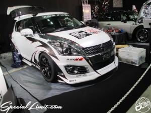 Tokyo Auto Salon 2014 in Makuhari messe custom 東京オートサロン カスタム スイフト