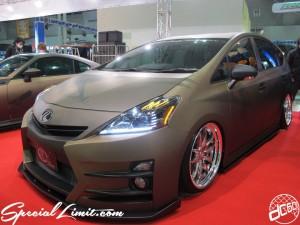Tokyo Auto Salon 2014 in Makuhari messe custom 東京オートサロン 30prius プリウス マットカラー
