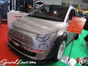 Tokyo Auto Salon 2014 in Makuhari messe custom 東京オートサロン フィアット 500 チンク fiat