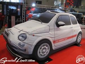 Tokyo Auto Salon 2014 in Makuhari messe custom 東京オートサロン fiat 500 チンク