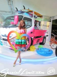 Tokyo Auto Salon 2014 in Makuhari messe Image girl AIWA 東京オートサロン 幕張メッセ キャンペーンガール キャンギャル