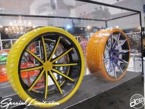 Tokyo Auto Salon 2014 in Makuhari messe custom 東京オートサロン LEXANI カラータイヤ Color tire