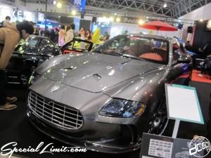 Tokyo Auto Salon 2014 in Makuhari messe custom 東京オートサロン マセラティ