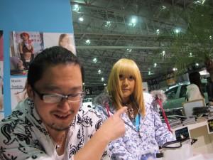 Tokyo Auto Salon 2014 in Makuhari messe J-LUG Booth ayataso hu-ji-東京オートサロン 幕張メッセ キャンギャル キャンペーンガール アヤタソ