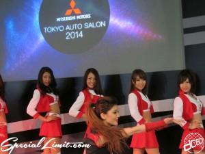 Tokyo Auto Salon 2014 in Makuhari messe Image girl 東京オートサロン 幕張メッセ 過激 キャンギャル mitsubishi