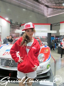 Tokyo Auto Salon 2014 in Makuhari messe Image girl 過激 キャンギャル denso