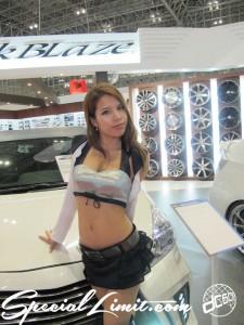Tokyo Auto Salon 2014 in Makuhari messe Image girl 過激 キャンギャル silk blaze