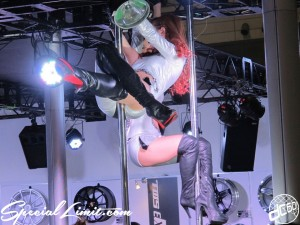 Tokyo Auto Salon 2014 in Makuhari messe Image girl 東京オートサロン 幕張メッセ 過激 キャンギャル tws pole dance