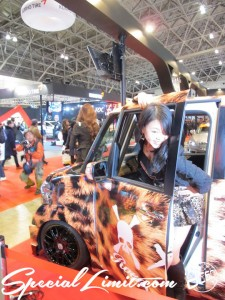 Tokyo Auto Salon 2014 in Makuhari messe Image girl rowen 東京オートサロン 幕張メッセ 過激 キャンギャル