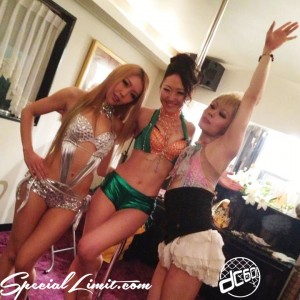 Pole Dancer ICE Happy Birthday Party in Hyogo Amagasaki Car Event dc601 X-5 KURO MARVELOUS