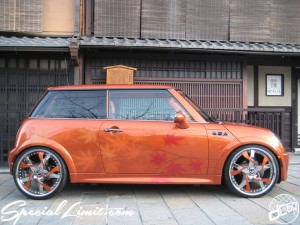 "dc601 FORGIATO JAPAN CERTIFIED DEALER Trophy DC-601,Inc. C.E.O Norman Designer Pablo FORGED Wheel MOMIJI MINI Cooper S MISTO 20"" Airbrush Shooting Gion Shiralawa Kyoto"
