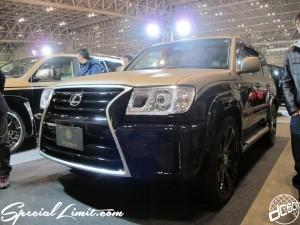 Tokyo Auto Salon 2014 in Makuhari messe custom 東京オートサロン Goldman Cruise ゴールドマンクルーズ クリムソン ランクル