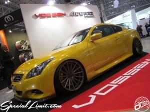 Tokyo Auto Salon 2014 in Makuhari messe custom 東京オートサロン Skyline Coupe スカイラインクーペ VOSSEN