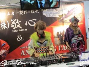 Tokyo Auto Salon 2014 in Makuhari messe custom 東京オートサロン DJ