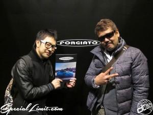 Tokyo Auto Salon 2014 in Makuhari messe custom 東京オートサロン FORGIATO ブース 西川クン NISSAN