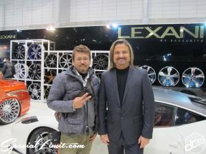 Tokyo Auto Salon 2014 in Makuhari messe custom 東京オートサロン LEXANI FRANK フランク