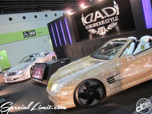 Osaka Auto Messe 2014 Car & Customize Motor Show Intex SUPER GT N's Factory New NSX GTR AIR RUNNER ACUAIR DAD G-Corporation REIZ REVOLVER CHEVORLET FORGIATO Custom DAD BENZ Swarovski