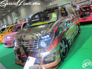 Osaka Auto Messe 2014 Car & Customize Motor Show Intex Custom ELGRAND Audio