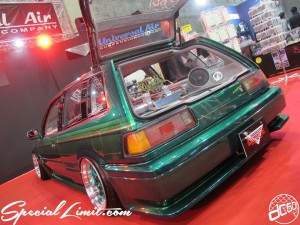 Osaka Auto Messe 2014 Car & Customize Motor Show Intex Custom Universal Air Suspension Accord Aero Deck Audio