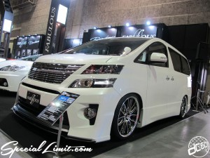 Osaka Auto Messe 2014 Car & Customize Motor Show Intex Custom FABULOUS Vellfire