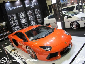 Osaka Auto Messe 2014 Car & Customize Motor Show Intex Custom FABULOUS Lamborghini