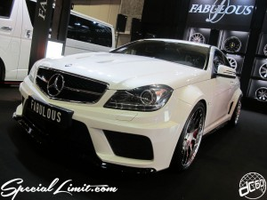 Osaka Auto Messe 2014 Car & Customize Motor Show Intex Custom FABULOUS BENZ Wide Body