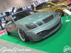 Osaka Auto Messe 2014 Car & Customize Motor Show Intex Custom 16 ARISTO LEXUS GS WIDE BODY WORK Meister Slammed