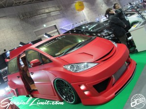 Osaka Auto Messe 2014 Car & Customize Motor Show Intex Custom Wrapping Estima