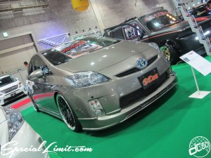 Osaka Auto Messe 2014 Car & Customize Motor Show Intex Custom IDEAL 30 PRIUS